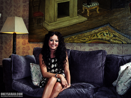 sarah brightman fondo de pantalla containing a drawing room, a couch, and a living room entitled Sarah Brightman