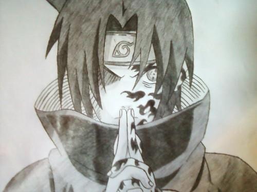 নারুত শিপ্পুদেন দেওয়ালপত্র called Sasuke Uchiha
