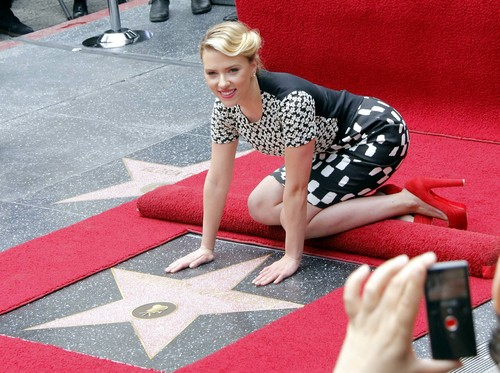 Scarlett Johansson star, sterne
