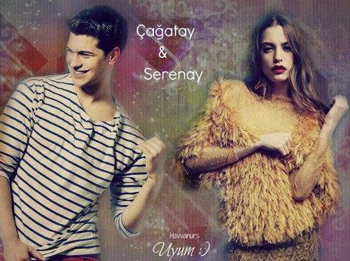 Serenay and Çağatay