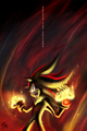 Shadow Escape the Fetters - shadow-the-hedgehog fan art