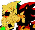 Shadow's too stupid to realize how much he annoys me! &gt;:( - sonic-fan-characters-recolors-are-allowed photo