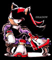 Shadow - shadow-the-hedgehog fan art