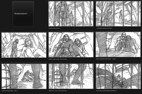 Shadowborn- Storyboard