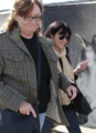 Shannen - and her mom at Cavalia Circus, February 20th 2011