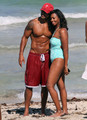 Shemar Moore Show Off His Sculpted Beach Bod