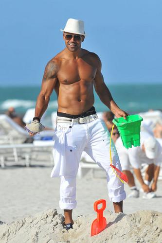 Shemar Moore in Miami