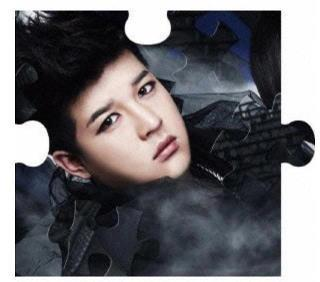 Super Junior wallpaper possibly containing a portrait titled Shindong Opera!!♥