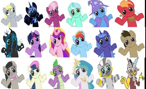 Shrug Ponies