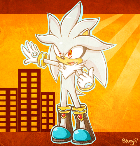 Silver the Hedgehog wallpaper with Anime called Silver