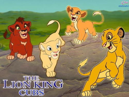 Simba Nala Kovu Kiara cub