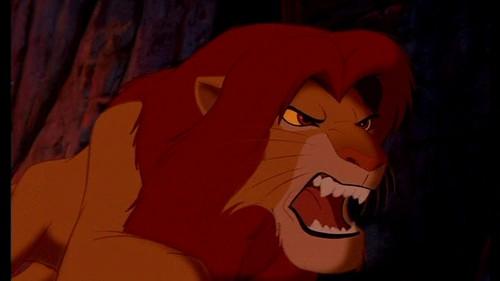 Simba's rage