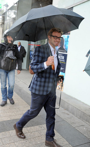 Simon Baker in Paris, May 2012