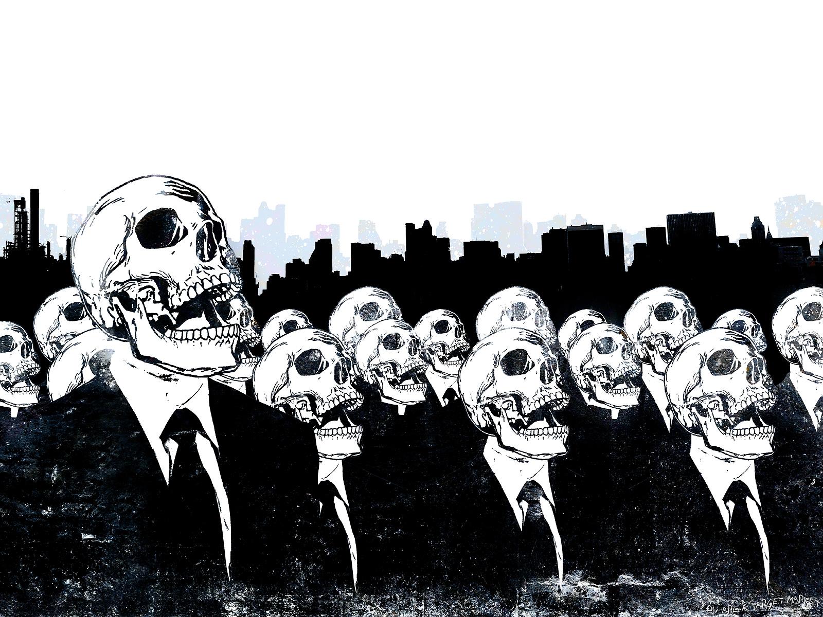 Skull fond d'écran