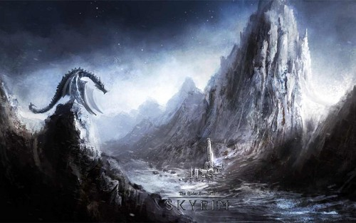 Elder Scrolls V Skyrim Wallpaper Titled Wallpapers