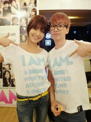 Sooyoung&Eunhyuk Selca- I AM