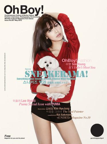 Sooyoung @ OhBoy!
