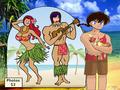 Soun & Akane teasing Ranma