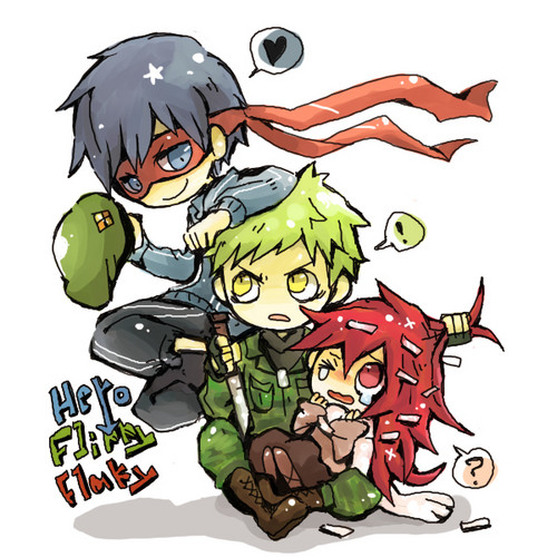 Splendid, Flippy and Flaky