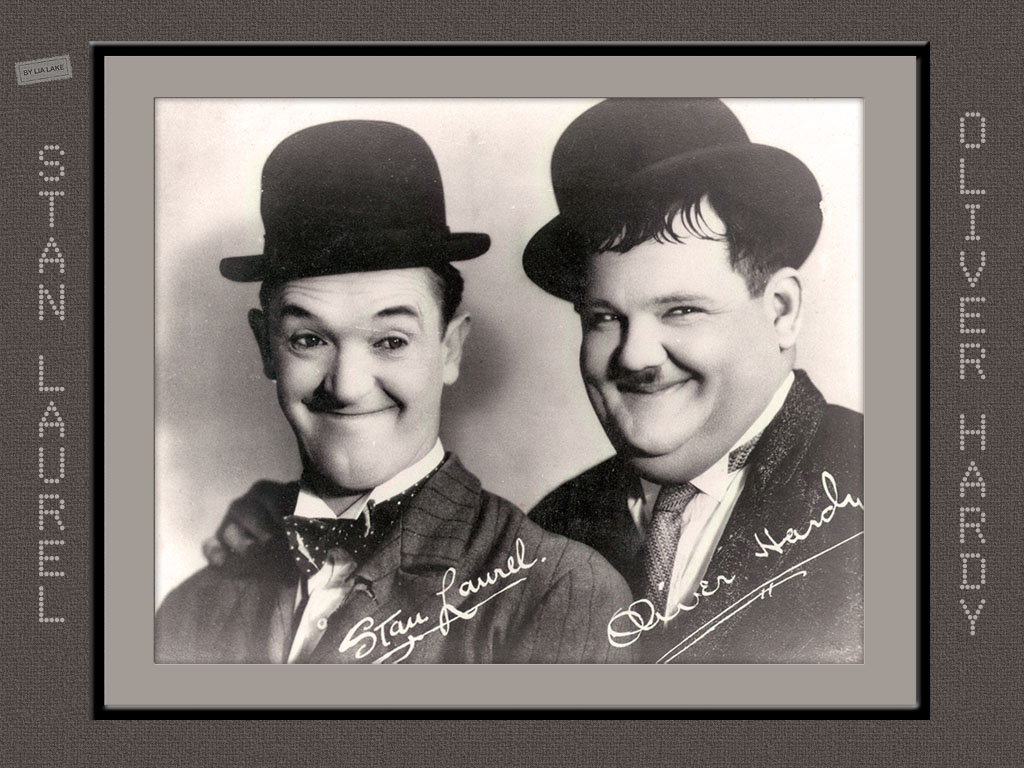 Laurel and Hardy images Stan and Oliver HD wallpaper and background ...