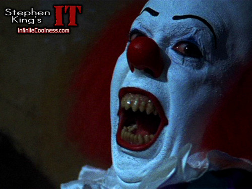 Filem Seram kertas dinding entitled Stephen King's IT