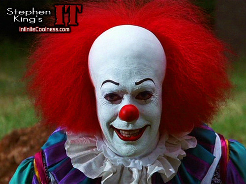 Horror فلمیں پیپر وال entitled Stephen King's IT