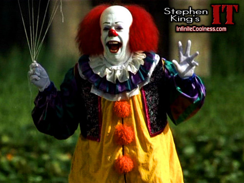 Horrorfilme Hintergrund entitled Stephen King's IT