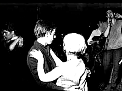 Stu and Paul on the stage (at the parte superior, arriba Ten Club Hamburg 1961)