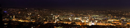 Stuttgart bei Nacht - germany Photo