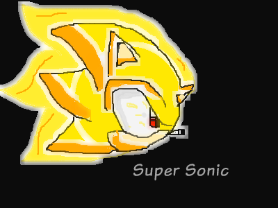Sonic the Hedgehog wallpaper titled Super Sonic