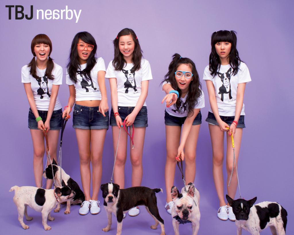 Wonder Girls (원더걸스) TBJ '08 Summer