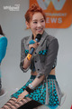Taeyeon @ Mnet Wide News Entertaiment Open Studio