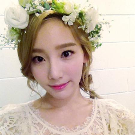 Taeyeon @ Selca of Genie App