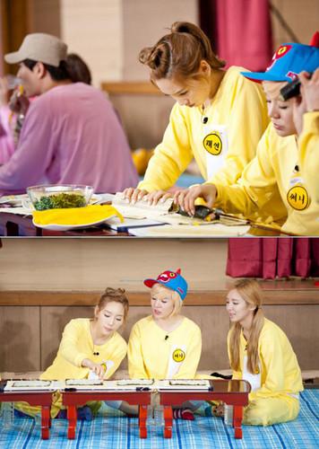 Taeyeon Sunny Hyoyeon @ KBS Invincible Youth S2