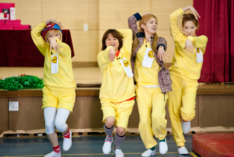 S♥NEISM wallpaper called Taeyeon Sunny Hyoyeon @ KBS Invincible Youth S2