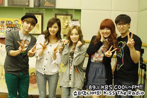 Taeyeon Tiffany Seohyun @ KBS Cool FM চুম্বন The Radio
