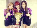 Taeyeon Tiffany Seohyun @ MBC Show Champion Selca  - s%E2%99%A5neism photo