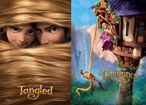 Tangled_Flynn+Rapunzel=<3