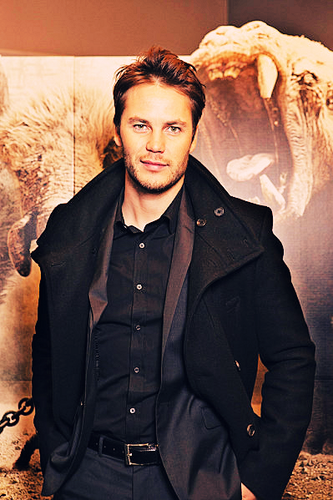 Taylor Kitsch wallpaper probably containing a pea jacket and a well dressed person titled Taylor<3