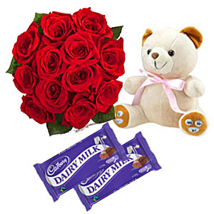 Teddy Bear Gift on Teddy Bear With Gift Pack   Stuffed Animals Photo  30773395    Fanpop