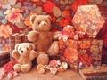 Teddy bears - stuffed-animals wallpaper