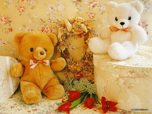 Stuffed Animals wallpaper called Teddy bears