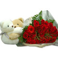 Teddy bears with gift pack - stuffed-animals photo