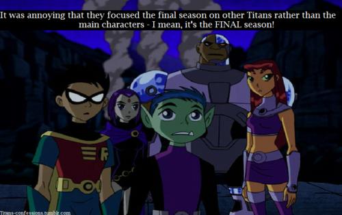Teen Titan Confessions