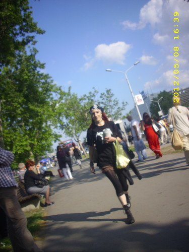 That's me on the Metallica concert 2012, Serbia