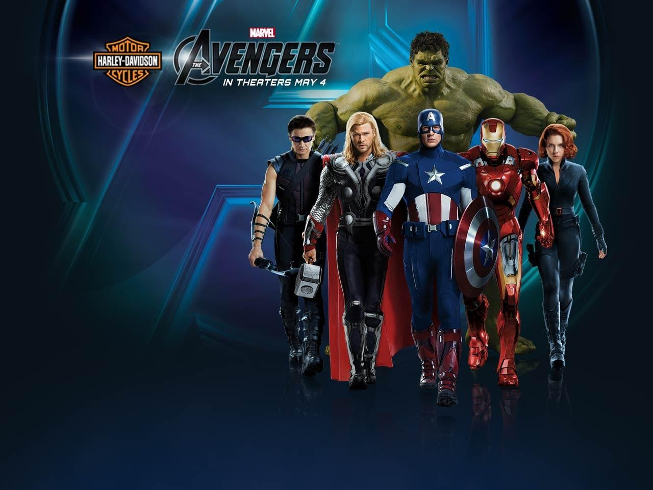 The avengers the avengers harley davidson wallpaper