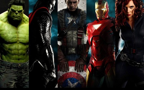 The Avengers wallpaper probably with a hip boot and an outerwear titled The Avengers