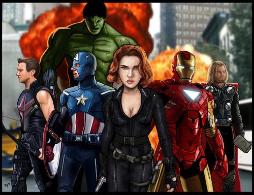 《复仇者联盟》
