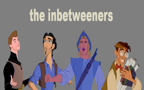 disney crossover achtergrond containing anime titled The Disney Inbetweeners