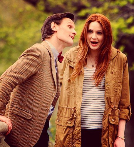 The Doctor & Amy Pond [Season 7] <333